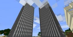 American History Series (part 4- World Trade Center Memorial Facility) Minecraft Map & Project