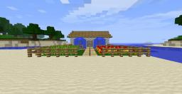 little house with foutains and farms Minecraft Map & Project