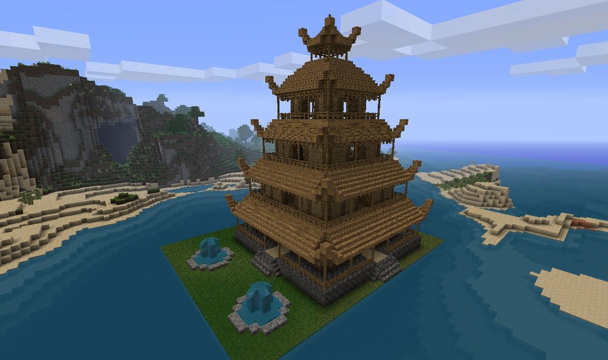 Chinesischer Tempel Minecraft Bilder Ideen - adksf.org