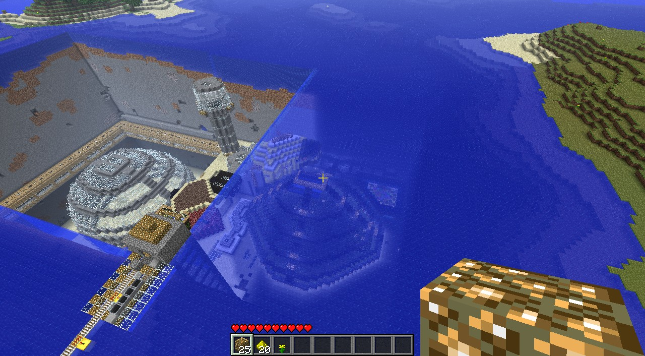 how to make an unlimited water source in minecraft