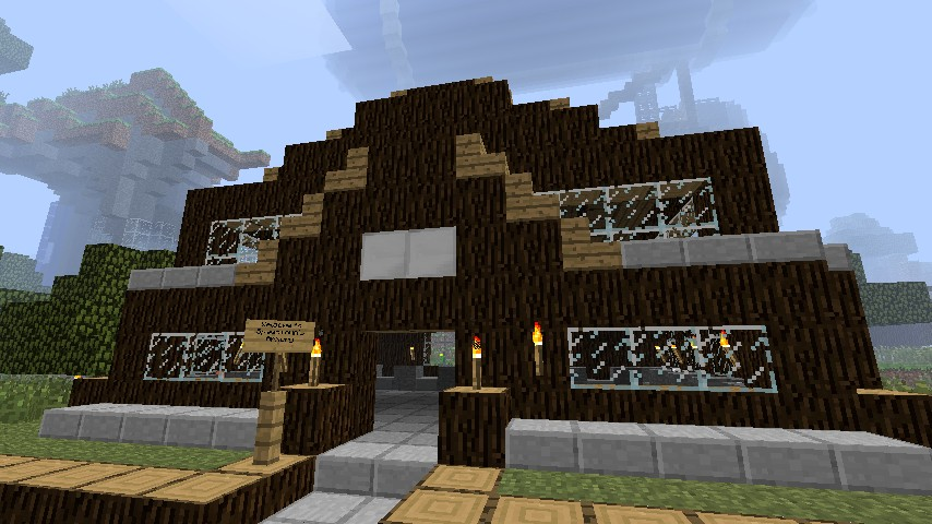The spawn armory.