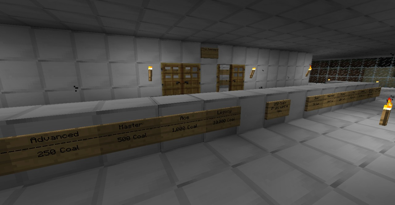 Managers Desk Shows prices and rooms and rules, these are all important so another person wont waste time asking question and more time buying the room and getting up there :D