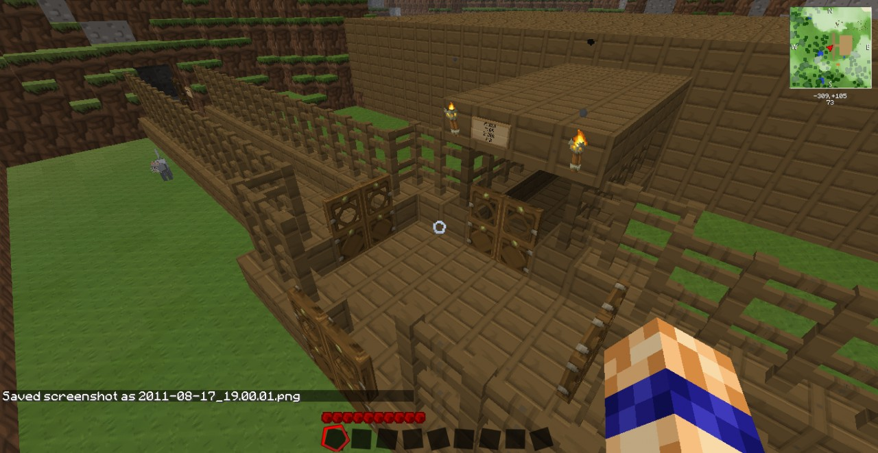 Horse Stable Minecraft Project