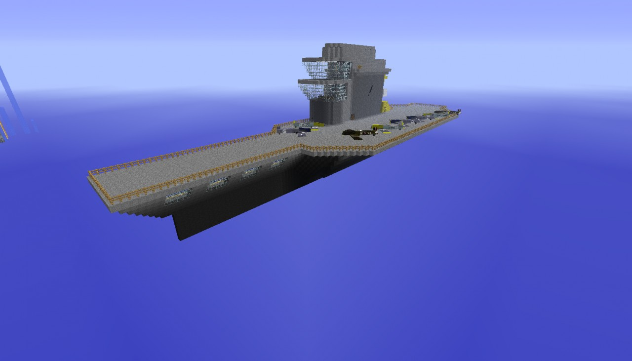 Aircraft Carrier Minecraft Project