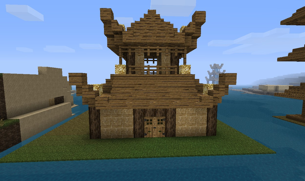 A litte haus (china) Minecraft Project