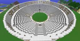Miners Spleef Stadium Minecraft Map & Project