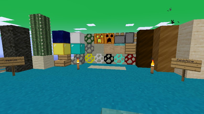 all new ores! (: