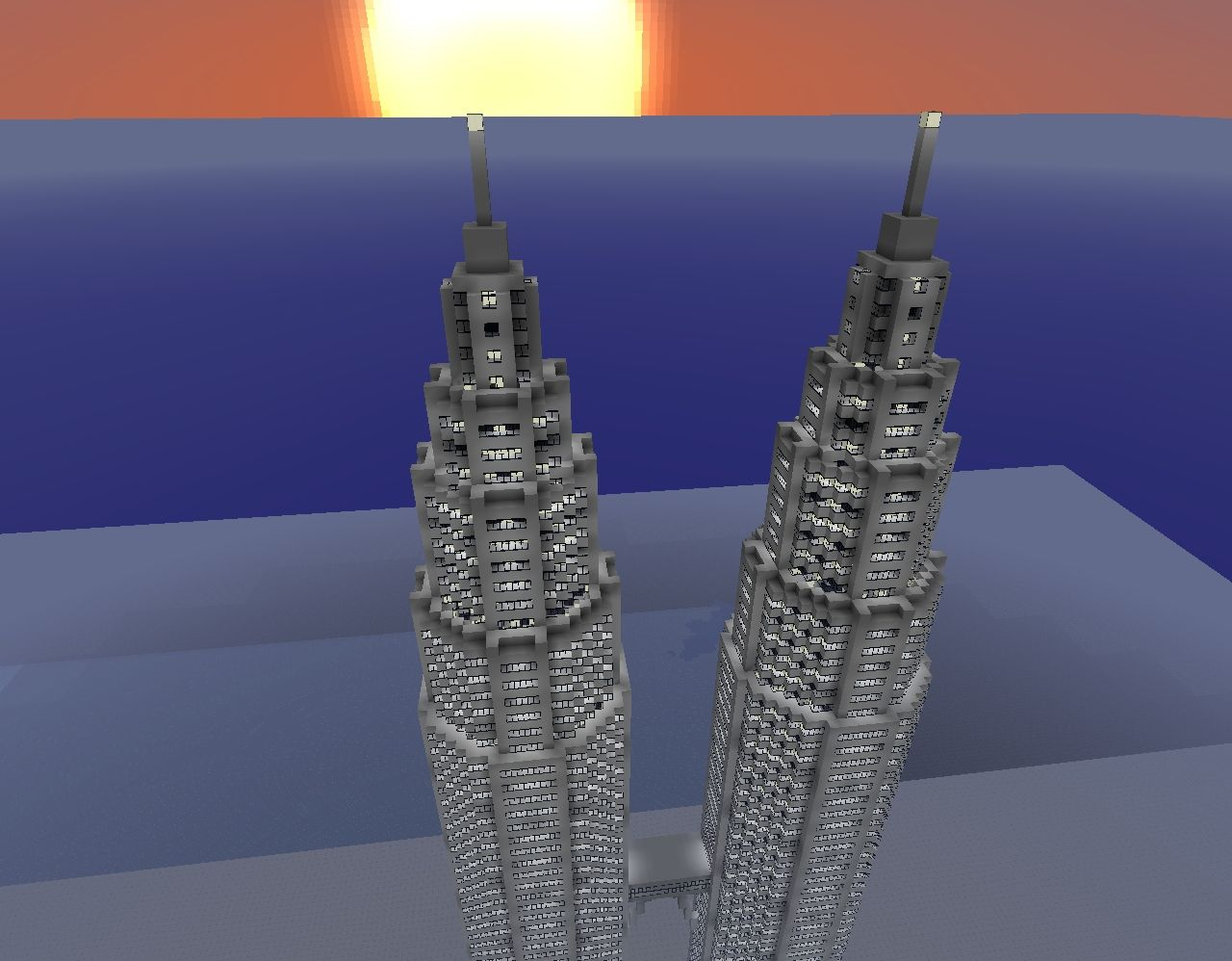 petronas towers minecraft schematics s
