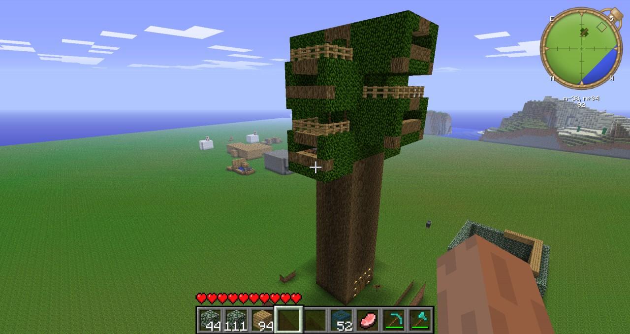 Huge Treehouse Simple ...