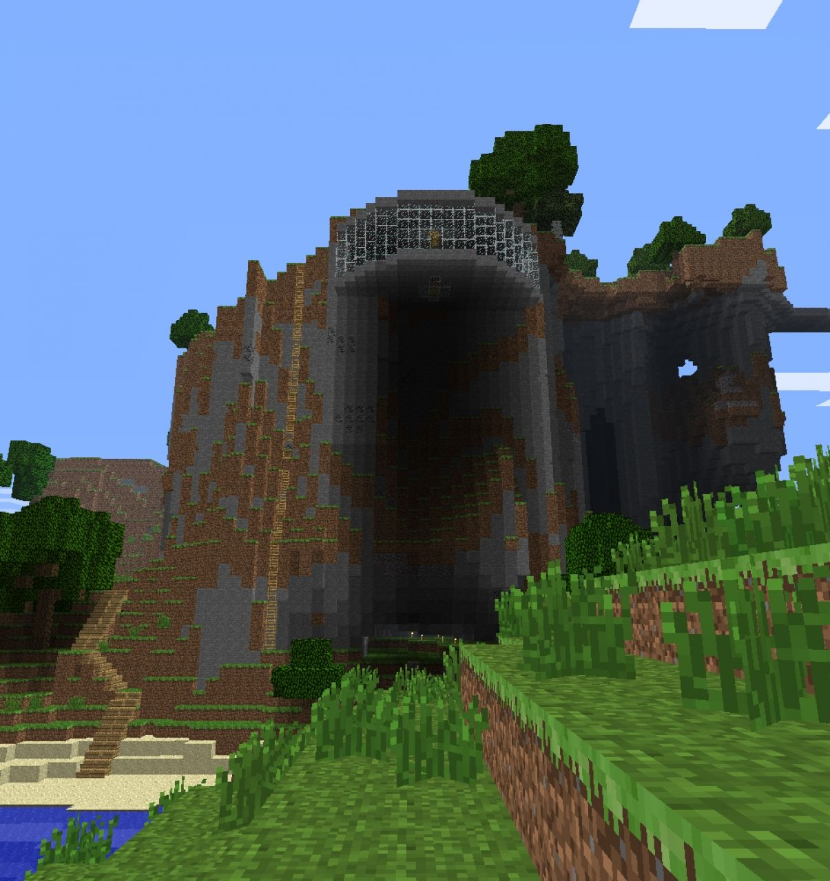 Cliff House A1eyedhamstercraft Server Minecraft Project