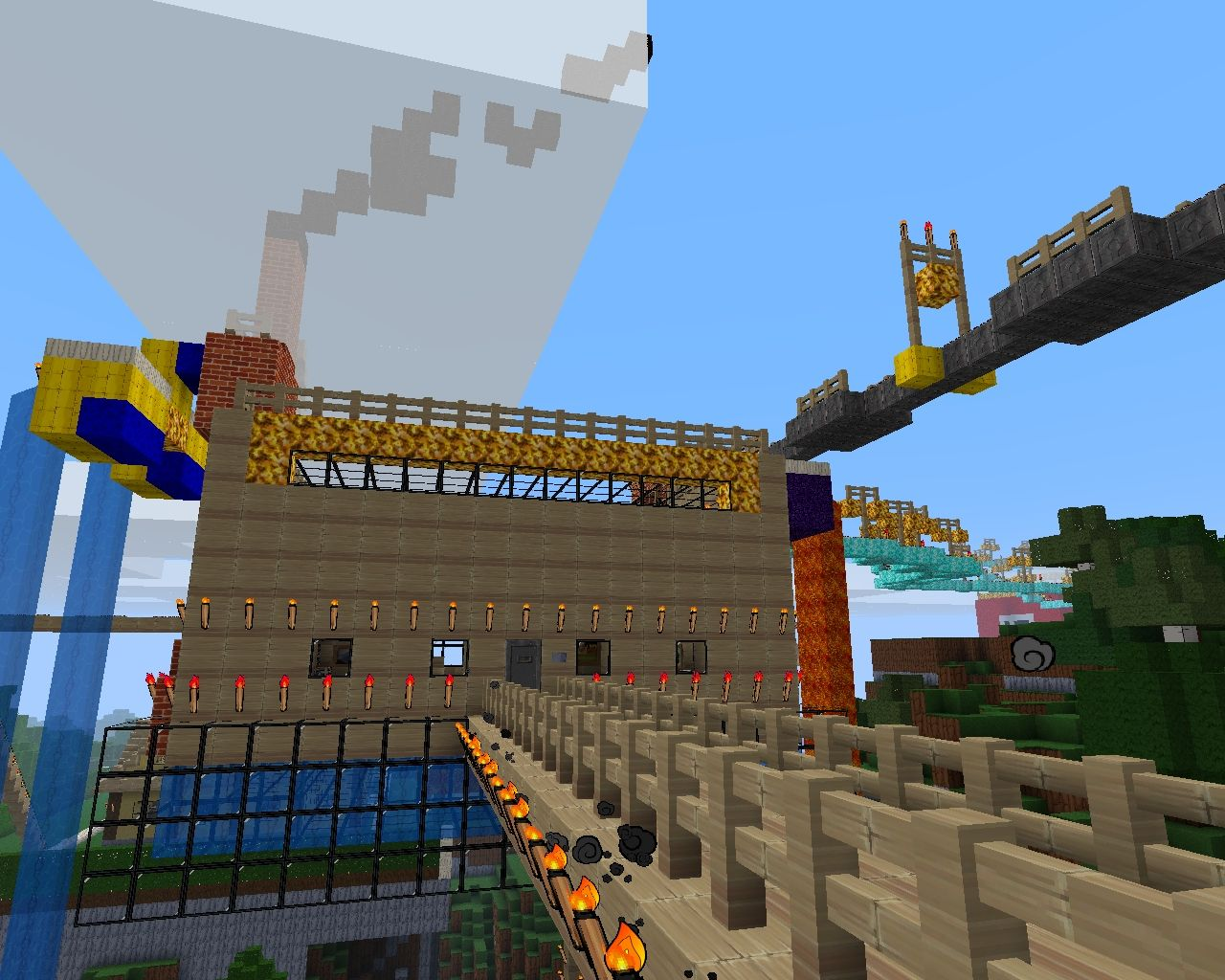 Crazy Inventor S House Minecraft Project
