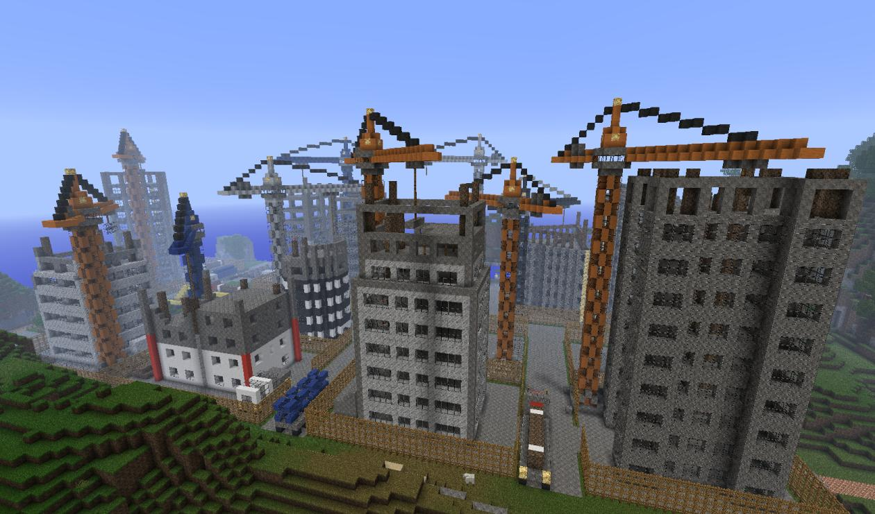 Minecraft site baustelle by maikthefirst on for First time home building guide