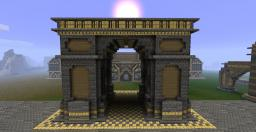An Arch Minecraft
