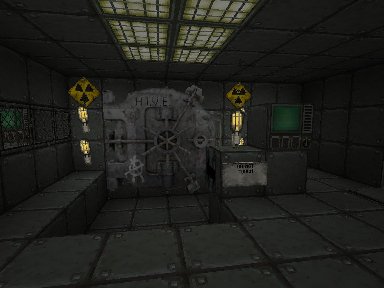 Fallout 3 vault Minecraft Project on
