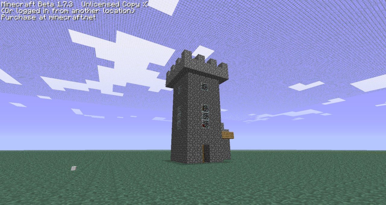 Medieval Tower And Wall Section Minecraft Project
