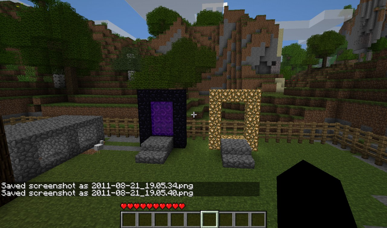 How To Build The End Portal In Minecraft Ps
