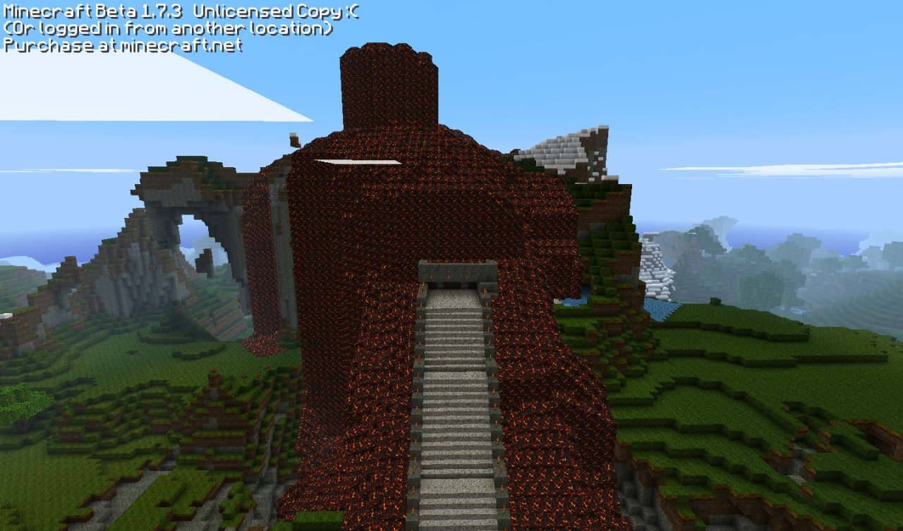 Volcano House Minecraft Project