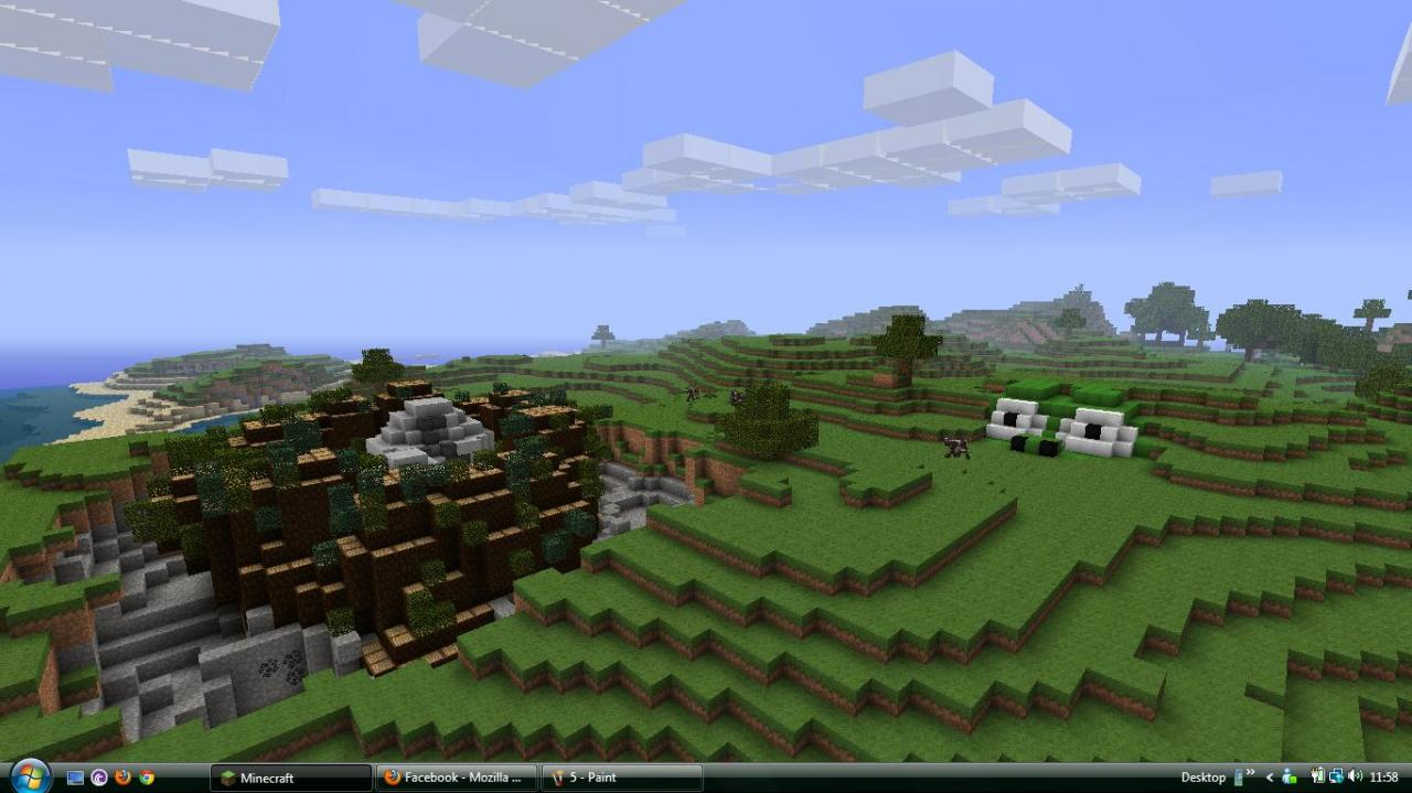Minecraft land of new age - e