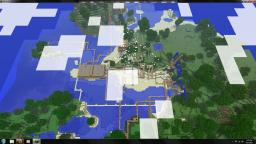 Awesome Rollercoaster of Fun Minecraft Map & Project