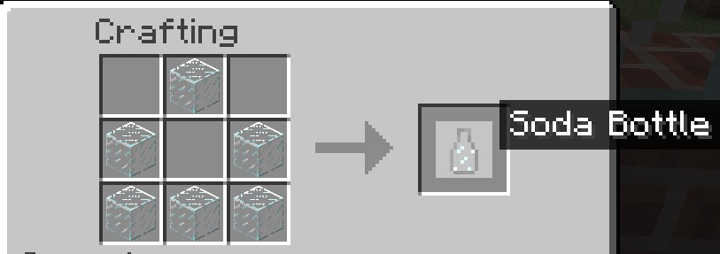 How to craft a bottle