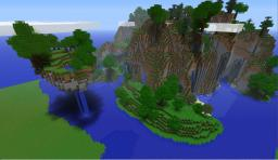 Landscape and Town Minecraft Map & Project