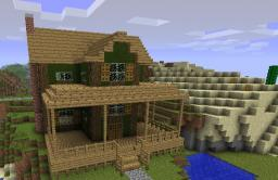 Farmhouse Minecraft Map & Project