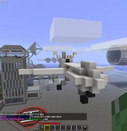 MQ-9 Reaper Drone Minecraft