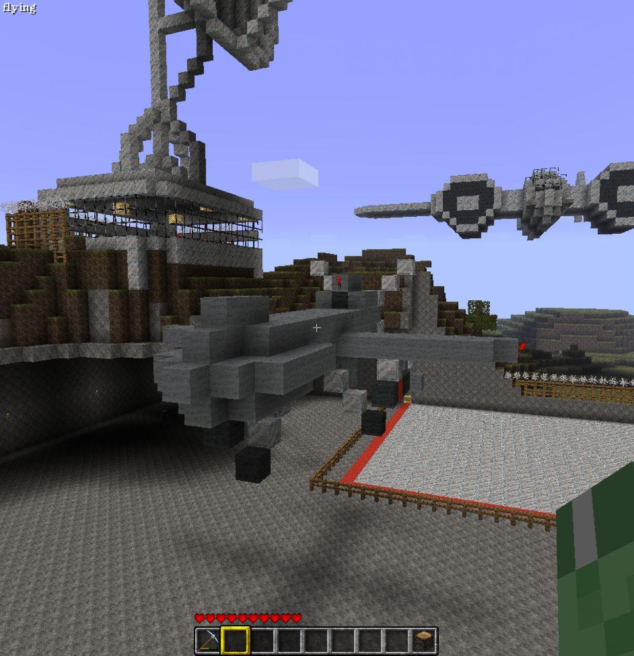 MQ 1 Predator Drone Minecraft Project