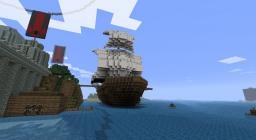 European Galleon Minecraft Map & Project