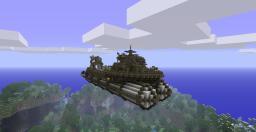 Airship Fleet (Work Boat) Minecraft Map & Project