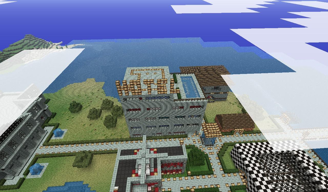 Hotel Schematic Minecraft Project