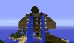 The Floating Babylon Minecraft Map & Project
