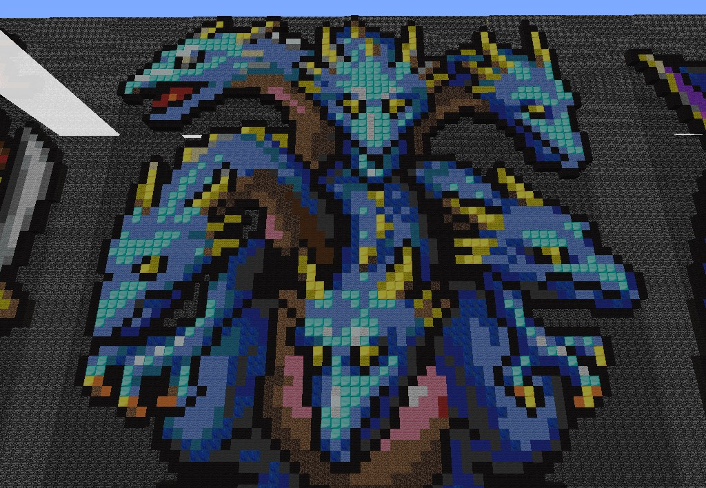 Some of our pixel art!