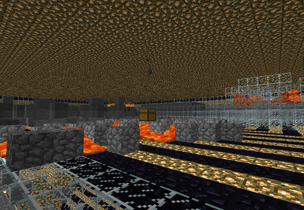 1st floor of our multi floored, and unique MOB ARENA! With custom skill levels, classes and rewards!
