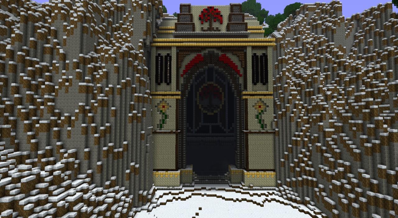 Minecraft Medieval City Download Gates of Firetree Mine...