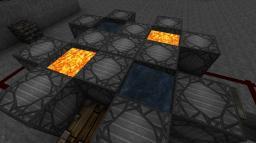 4xAuto Cobblestone Generator w/o clock Minecraft Map & Project