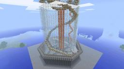 HUGE glass tower Minecraft Map & Project