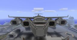 Globemaster III C-17 Minecraft Map & Project