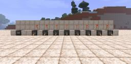 Byte Compresser & Receiver Minecraft Map & Project