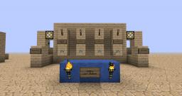 Super Compact, Multi Function, Minecart Station! (+tutorial) Minecraft Map & Project