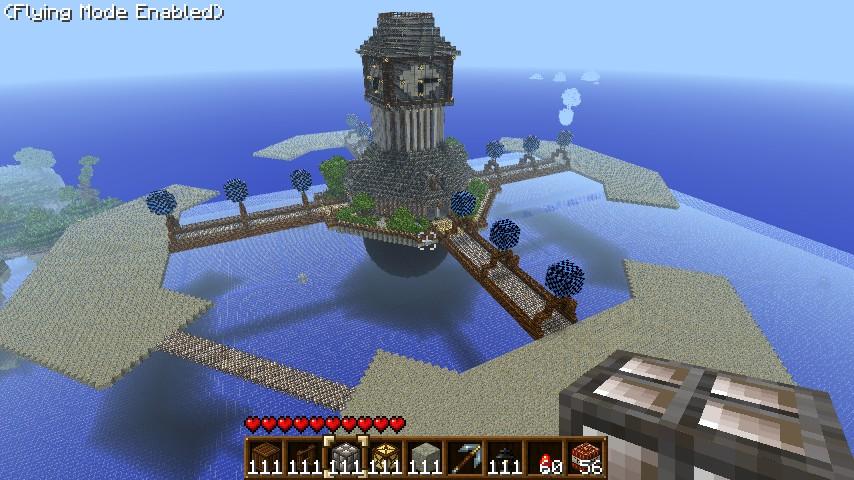 Columbia Bioshock Infinite Minecraft Project