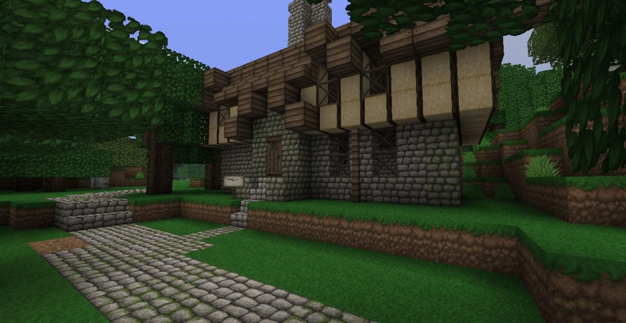 Faregyl Inn from Oblvion (forgot what it looks like inside, so I did my best)