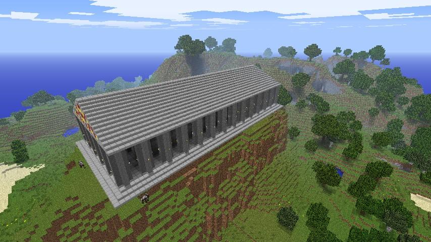 Greek Map Minecraft Greek Parthenon Minecraft