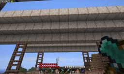 sky ship carrier Minecraft Map & Project