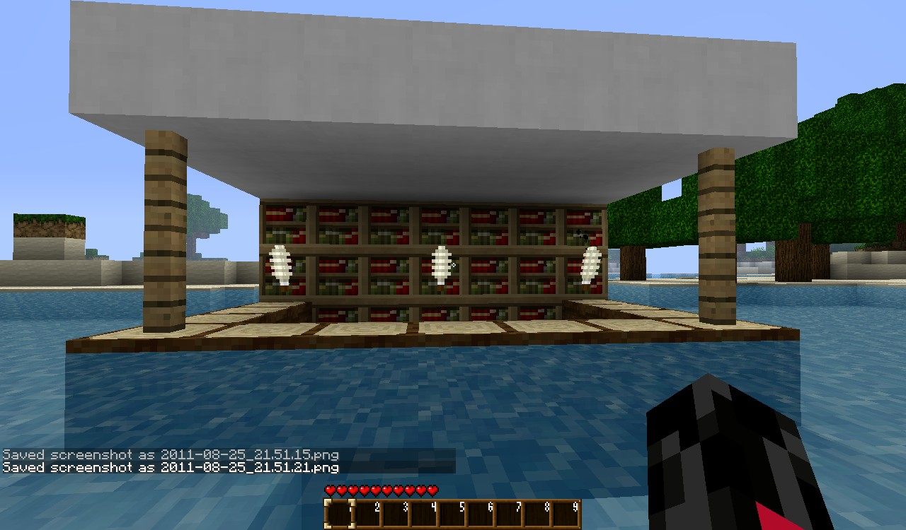 Modern House Mansion Minecraft Project