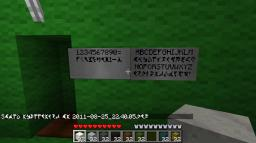 Klingon and English font Minecraft Mod