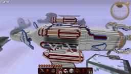 """""""Leviathan"""" Battle Barge Minecraft Map & Project"""