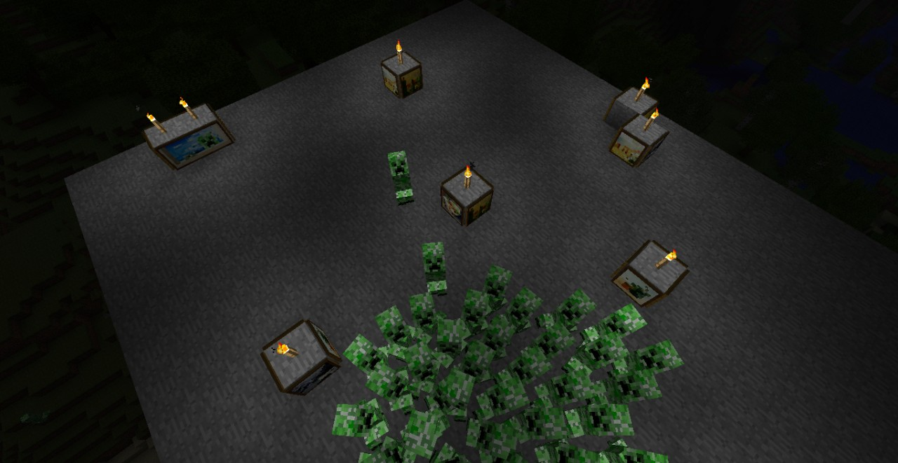 zombies temple minecraft project
