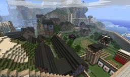 The Mining Guilds Spawn Kingdom City Minecraft Map & Project