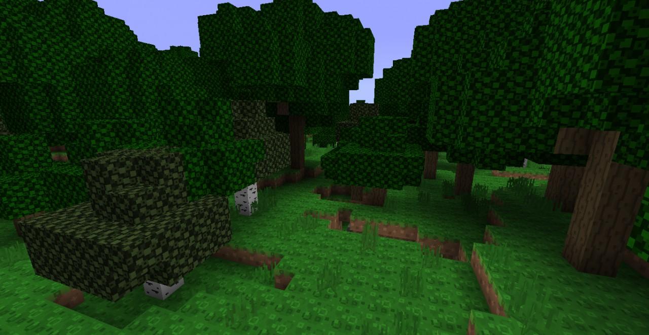 Lush foliage!